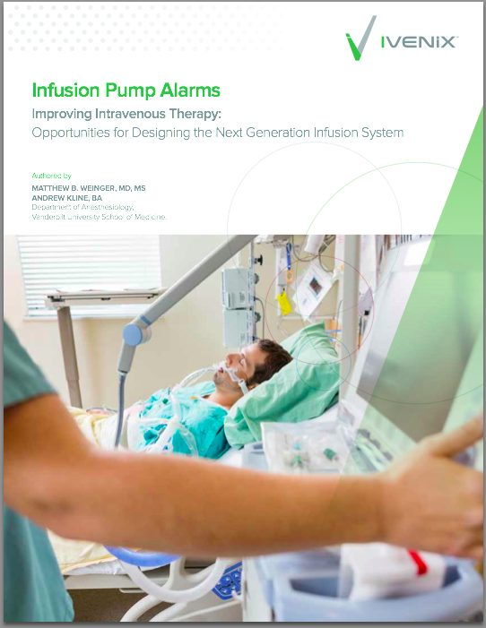 Improving Intravenous Therapy:  Next Generation Infusion System
